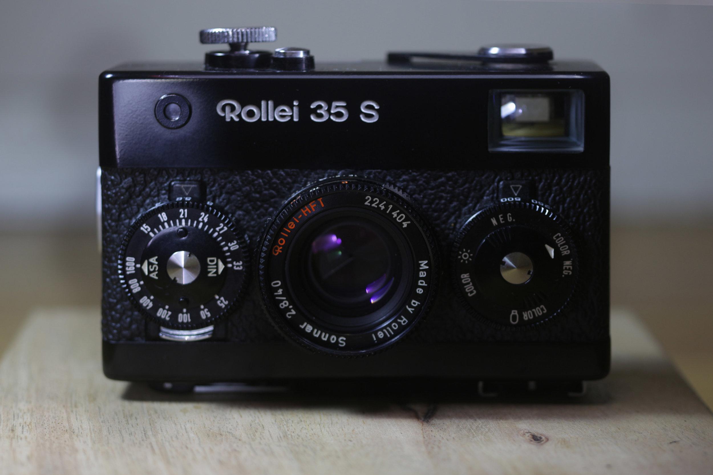 Fuji Superia 1600 Rolei 35 S Cameraplex D