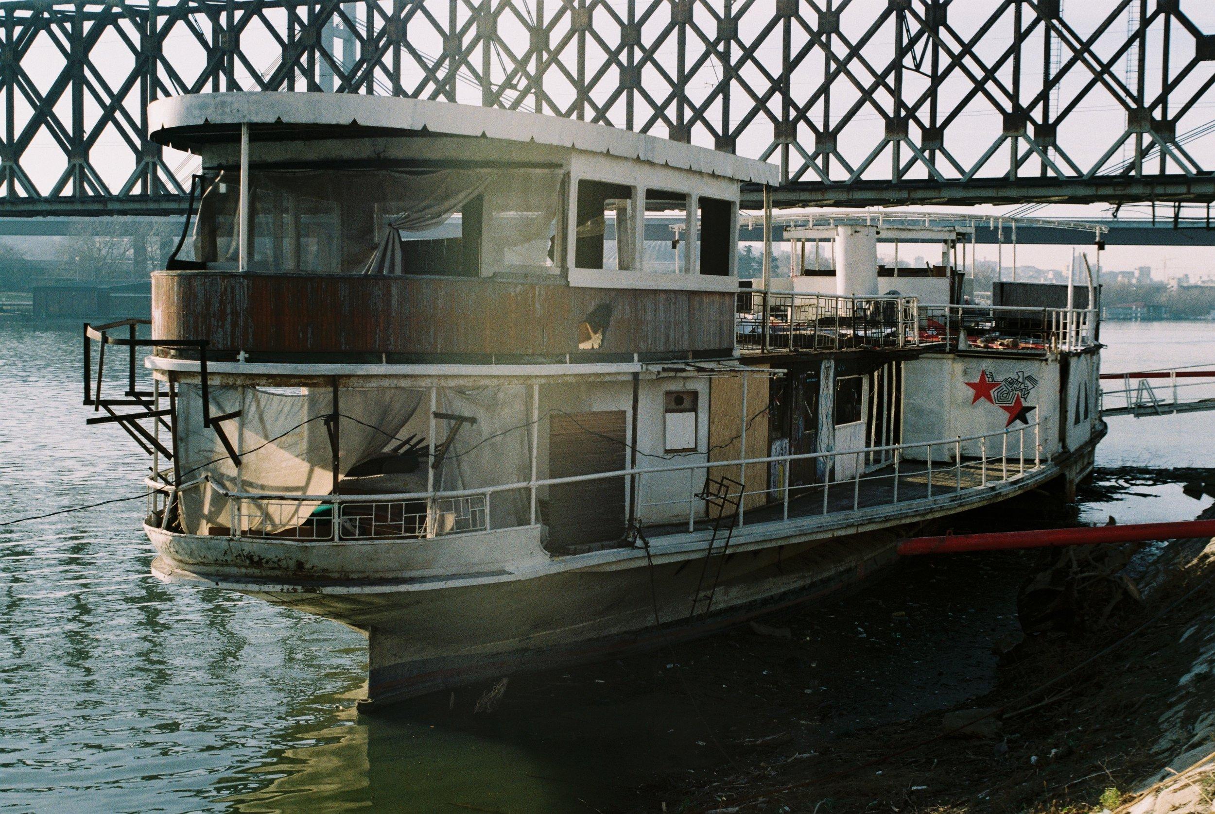Abandoned Boat - December, 2018