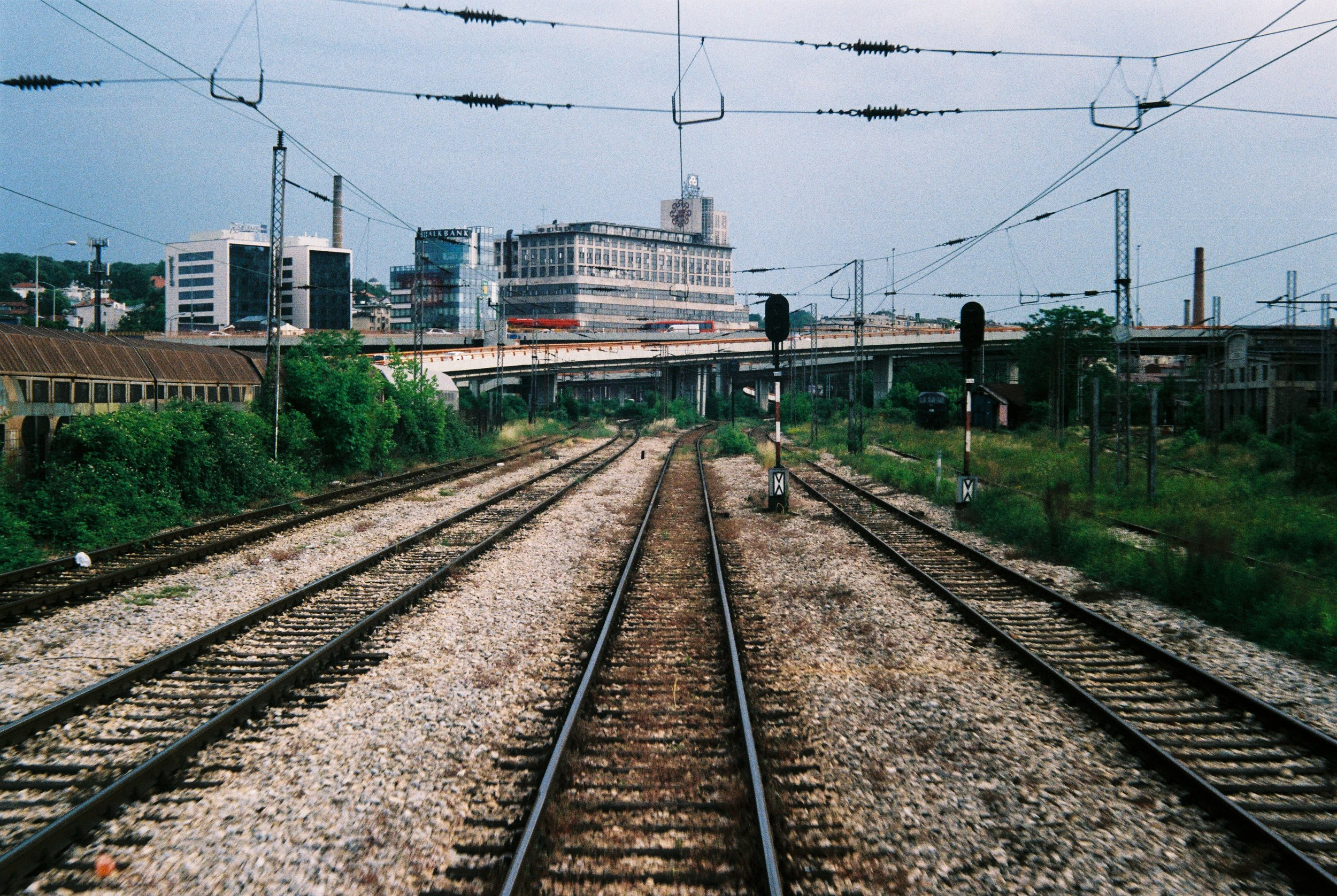 View from the Train Arriving at the [Old] Belgrade Train Station One Month Before Closure - May, 2018