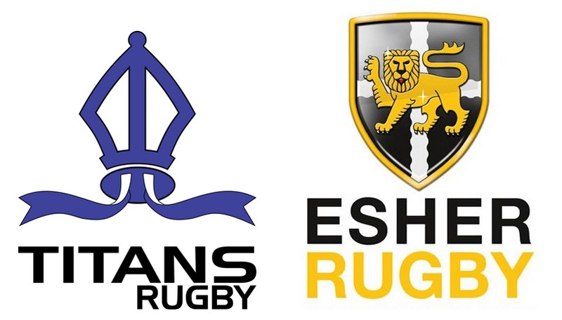 Titans v Esher logos.jpg