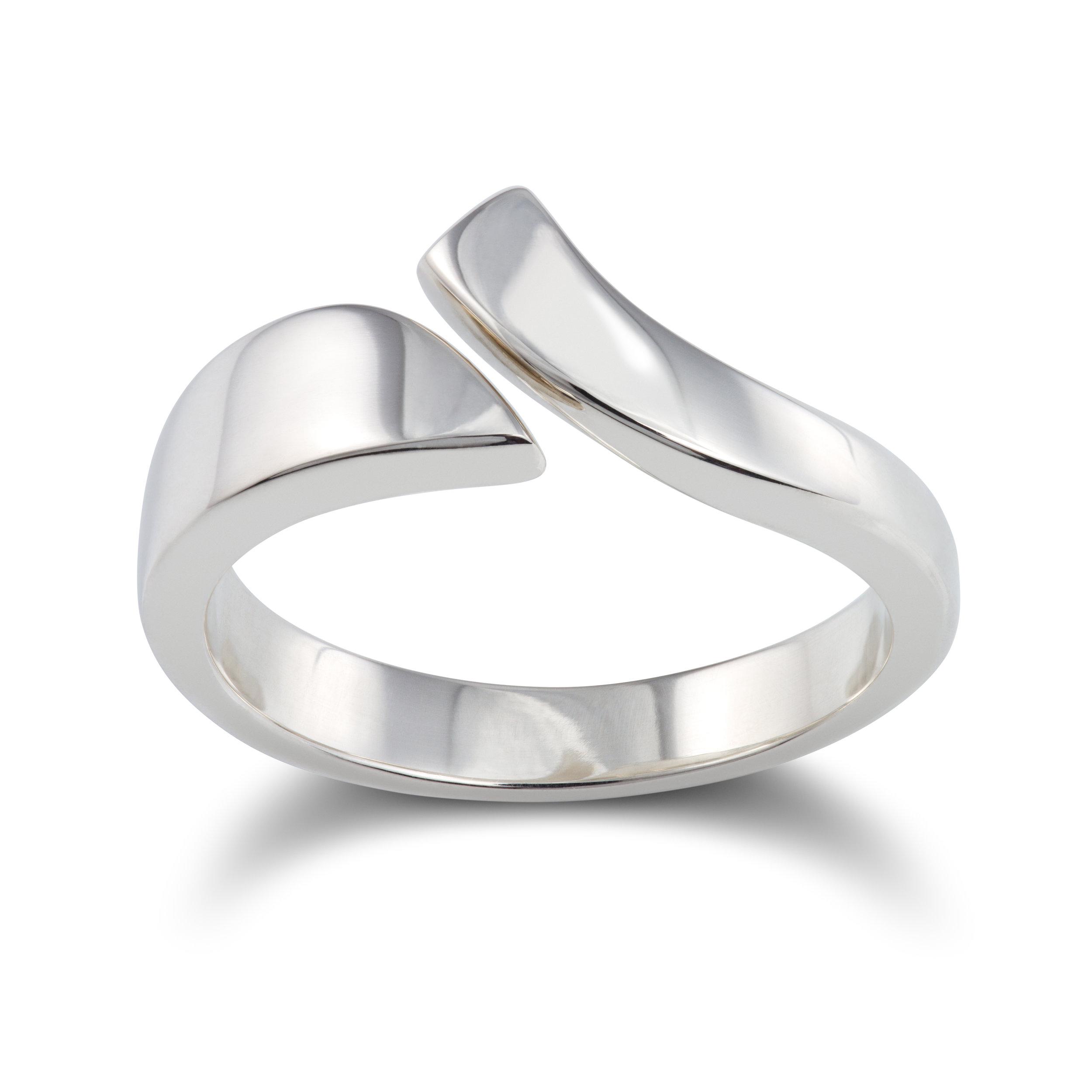 Silver dress ring - £125