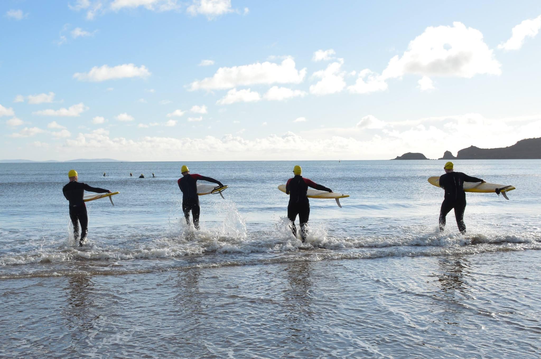 Beach lifeguard training - January 2019