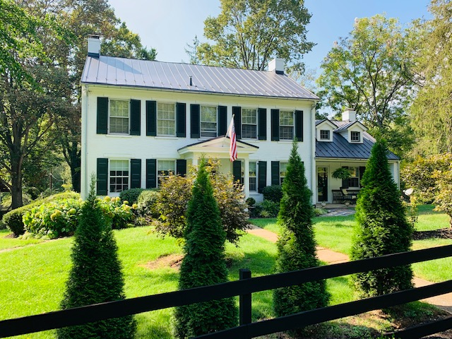 It was on this lawn where Lee and Longstreet met, and one of the upper windows where Daniel Bovey aimed his rifle at the two men, and nearly changed history.
