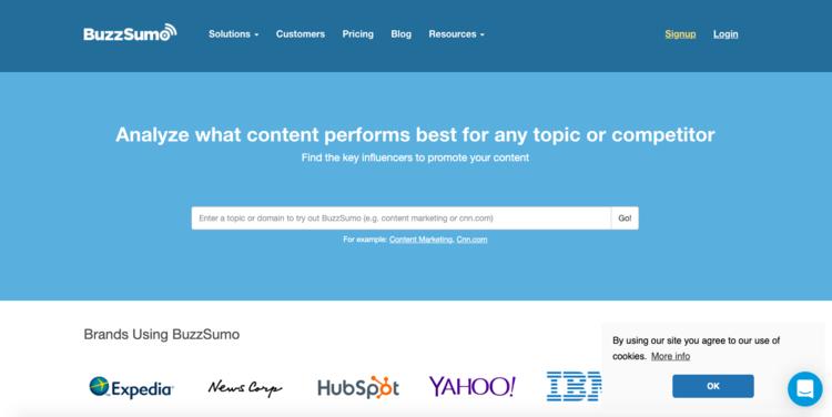 Investiga y conoce a la audiencia de tu Startup con BuzzSumo