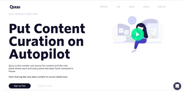 Lleva la curación del contenido de tu Startup a un nuevo nivel con Quuu