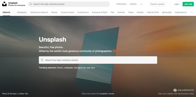 Obtenga imágenes que causarán una impresión duradera de tu Startup con Unsplash