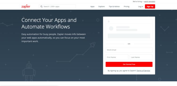 Automatiza los procesos de tu Startup y ahorra tiempo con Zapier