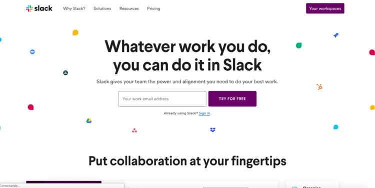 Haz que la comunicación remota de tu Startup sea un placer con Slack