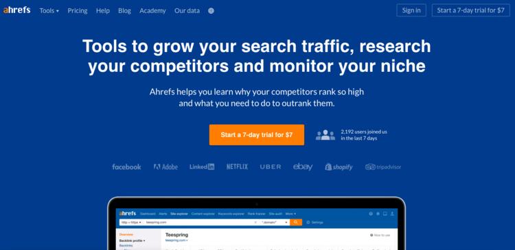 Mejora el tráfico orgánico de tu Startup con AHrefs
