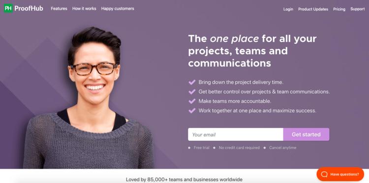 Perfecciona las habilidades de gestión de proyectos de tu Startup con ProofHub