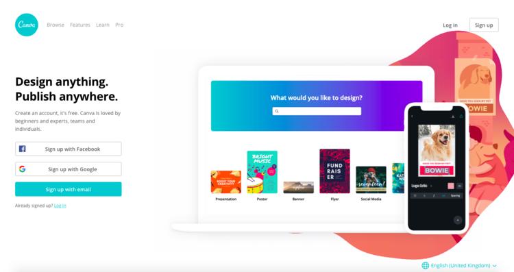 Conviértete en el diseñador gráfico de tu Startup con Canva