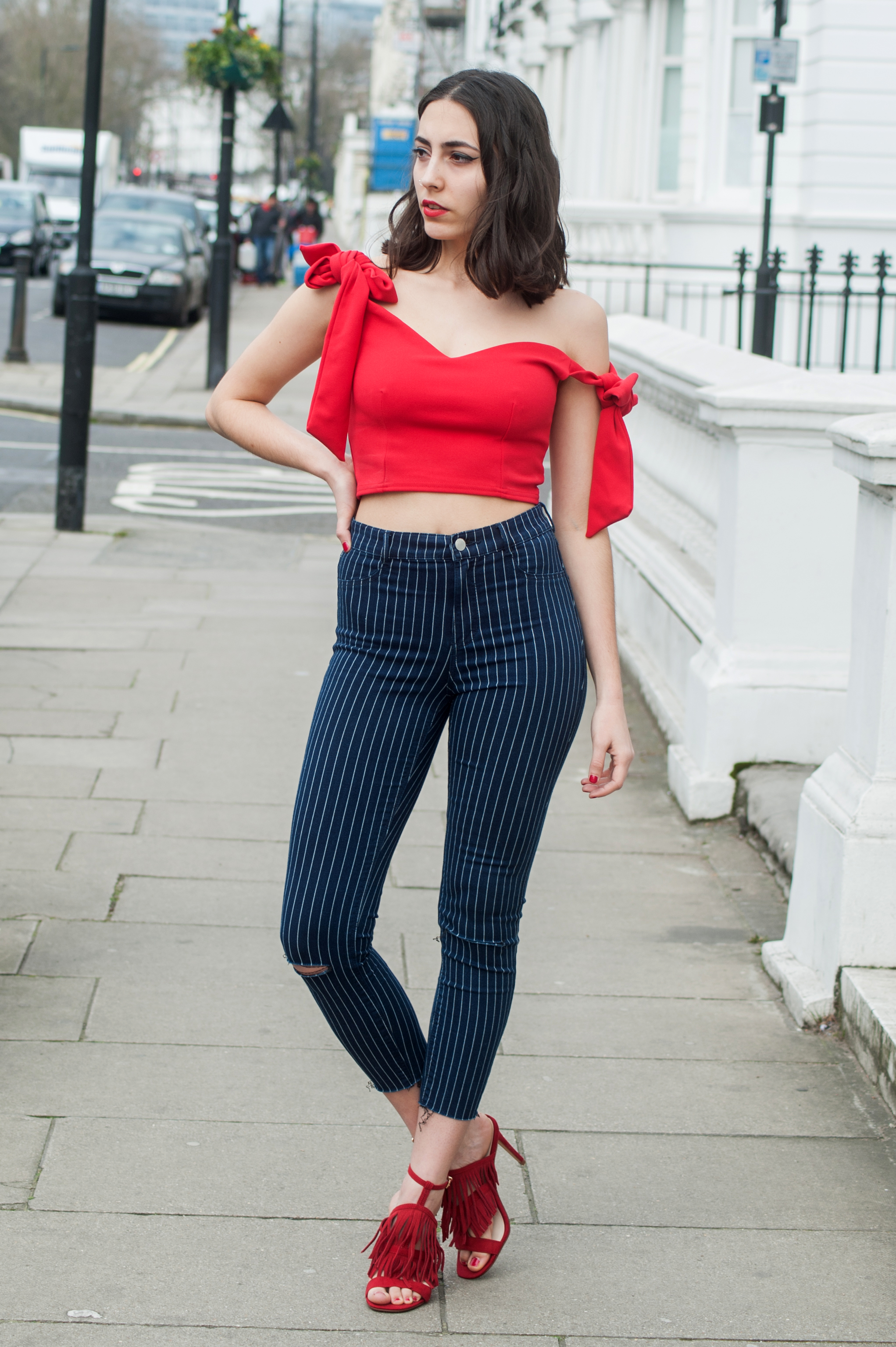 grease-crop-top-red-high-waist-jeans-stripes-bows-fringe-sandals-london-street-style.jpg