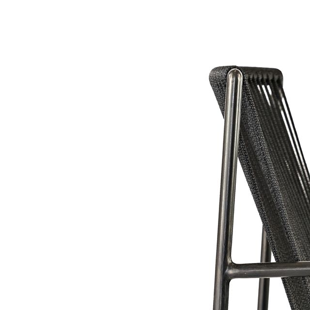 9 of 9 | SLOOP Arm Chair... black on black on black.. ⠀⠀⠀⠀⠀⠀⠀⠀⠀ 📸 by @jason_ryan_simmons⠀⠀⠀⠀⠀⠀⠀⠀⠀ .⠀⠀⠀⠀⠀⠀⠀⠀⠀ .⠀⠀⠀⠀⠀⠀⠀⠀⠀ .⠀⠀⠀⠀⠀⠀⠀⠀⠀ .⠀⠀⠀⠀⠀⠀⠀⠀⠀ .⠀⠀⠀⠀⠀⠀⠀⠀⠀ .⠀⠀⠀⠀⠀⠀⠀⠀⠀ .⠀⠀⠀⠀⠀⠀⠀⠀⠀ #design #designer #furniture #finefurniture #furnituredesign #modern #moderndesign #handmade #handcrafted  #chair #chairdesign #interiordesign #interiors #contemporary #contemporaryfurniture #contemporarydesign #madeinusa #black #steel #rope