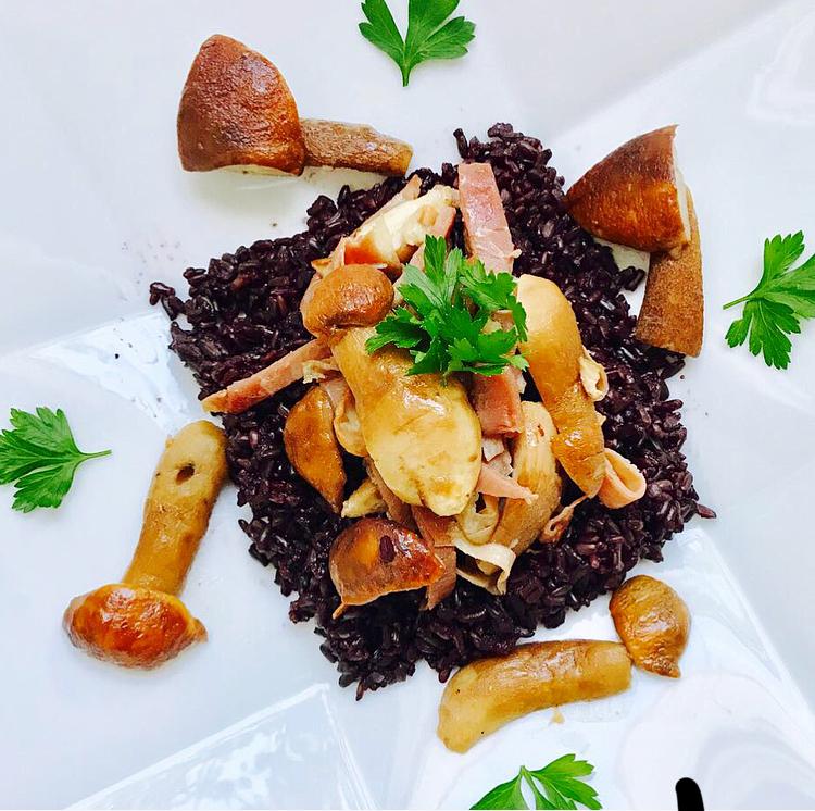 Black rice risotto maman.jpg