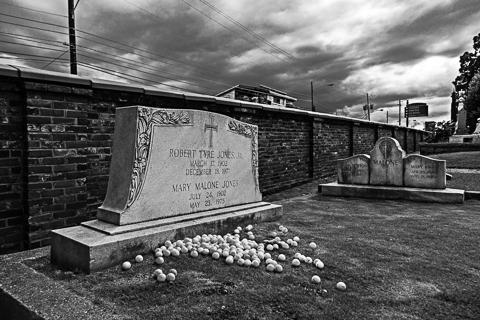 Bobby Jones Grave - Shots2014, Showcase School, Atlanta. Georgia