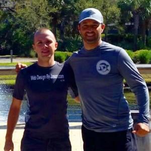 Jason Foote    (Owner, Web Design by Jason) and   Jeff Hopeck    (Owner of Killer Shark Marketing)