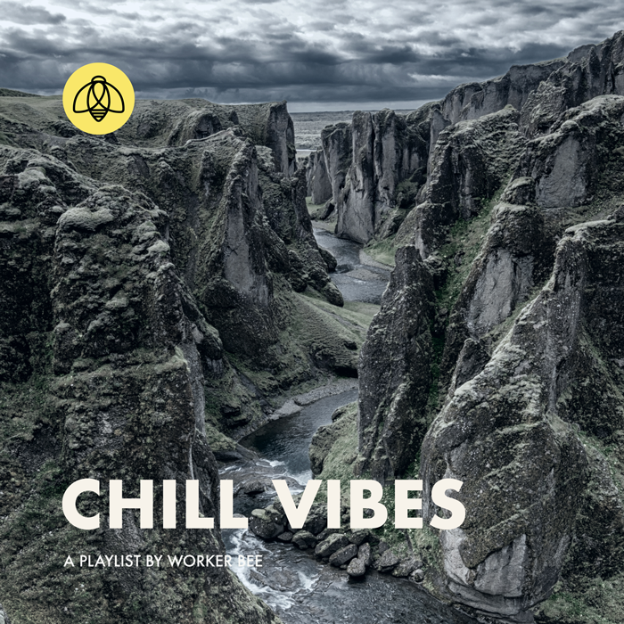 CHILL VIBES - The perfect playlist for a calm chill day, from your friends at Worker Bee. Great for a quiet morning at home, focusing in on a project, or taking off on your next adventure.