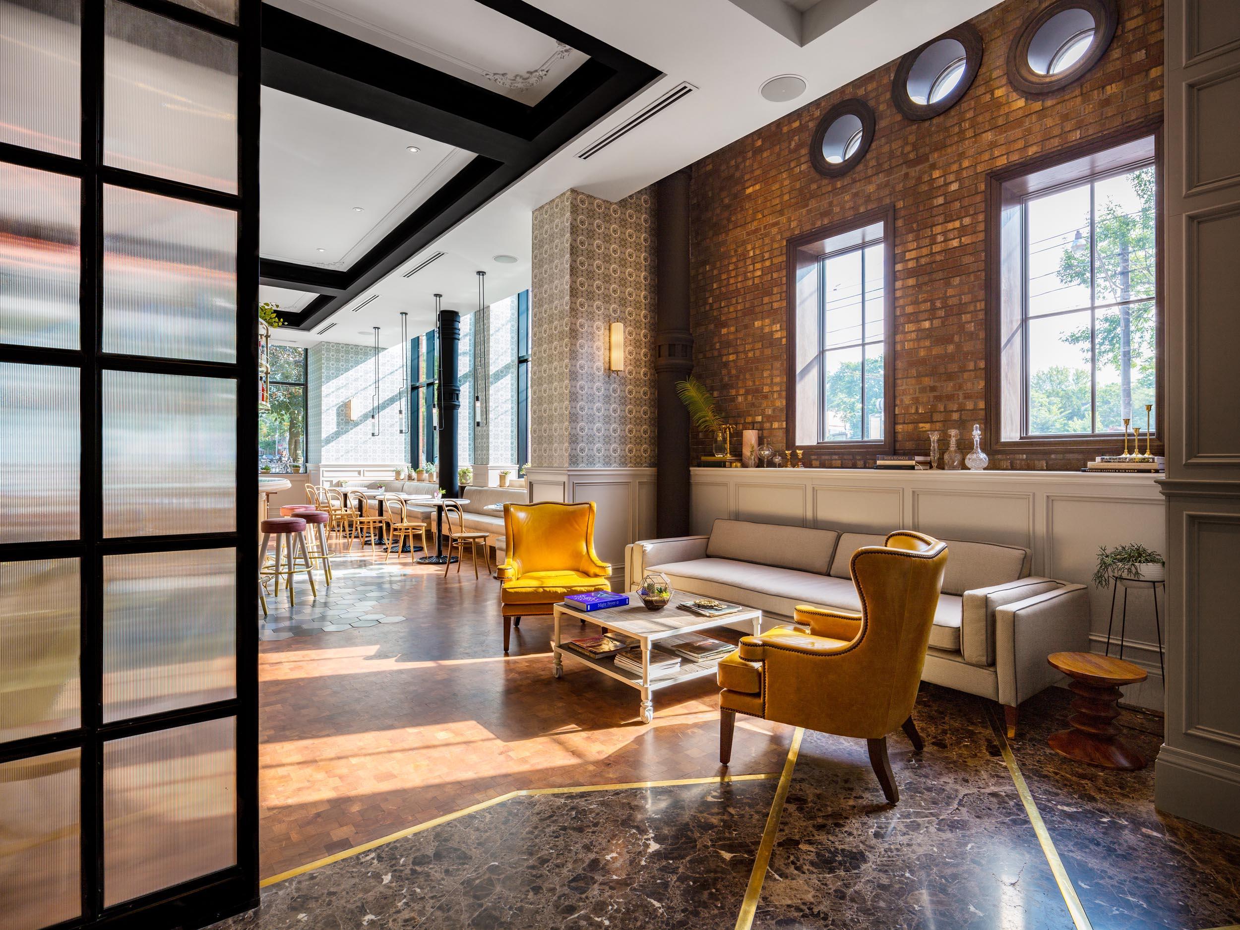 Toronto Interior Hotel Photography Broadview Modern Architecture