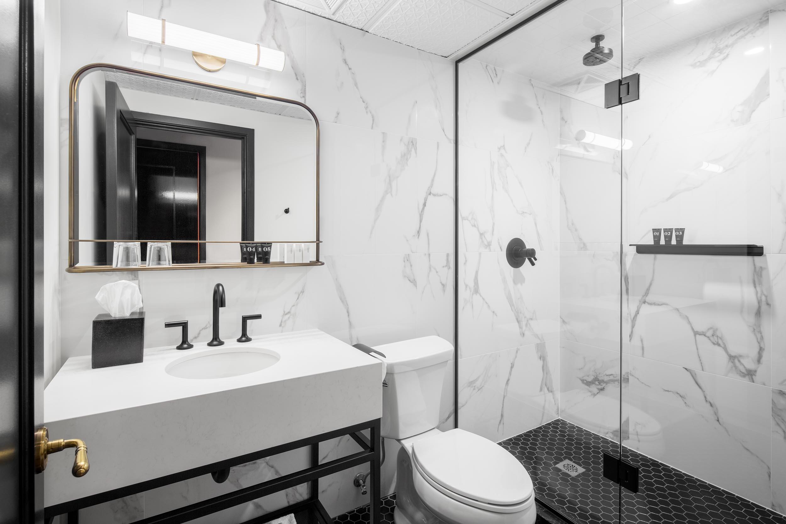 The Broadview Hotel Bathroom Interior Design Photography Toronto