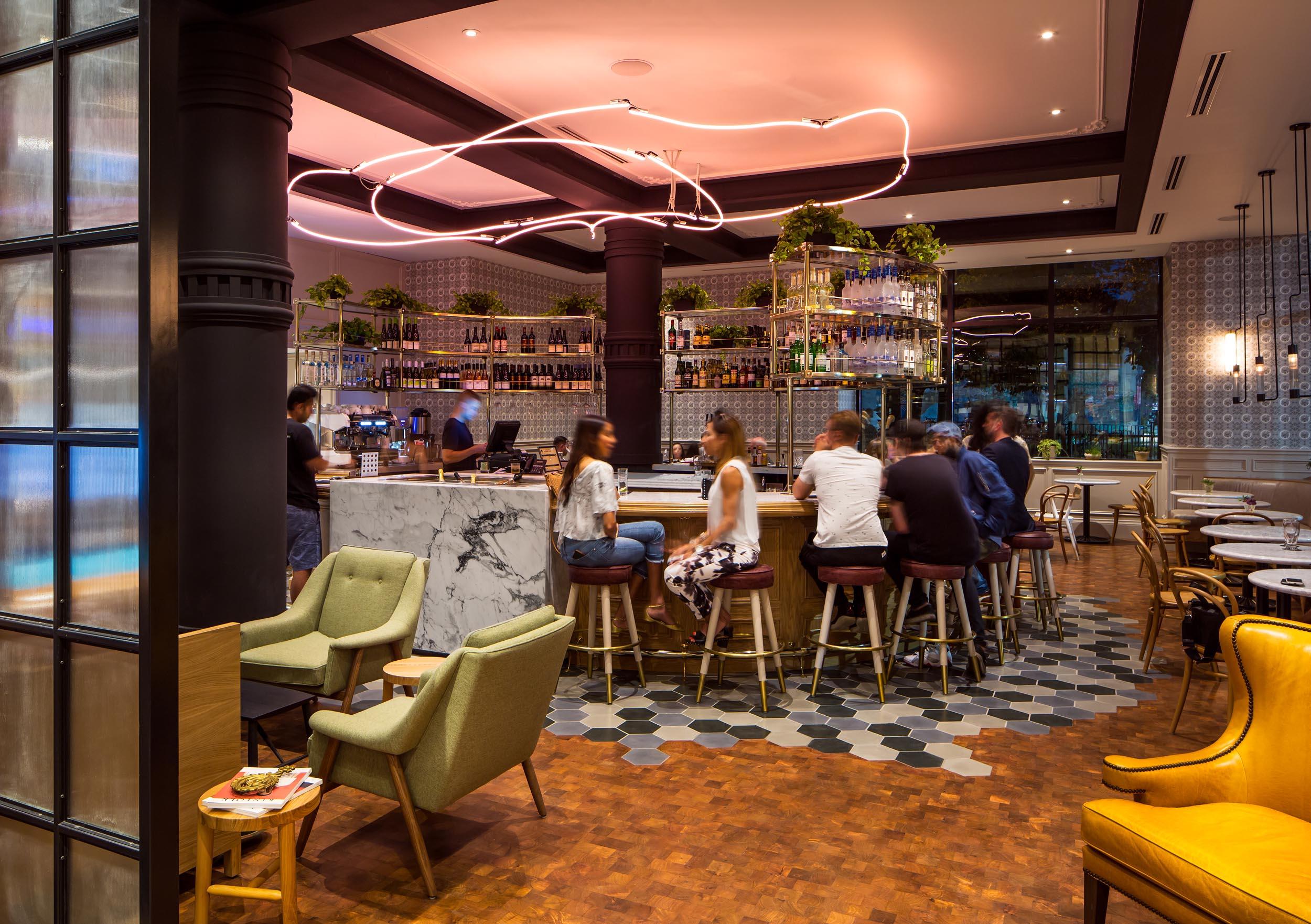 Broadview Hotel Toronto Restaurant Interior Design Photography