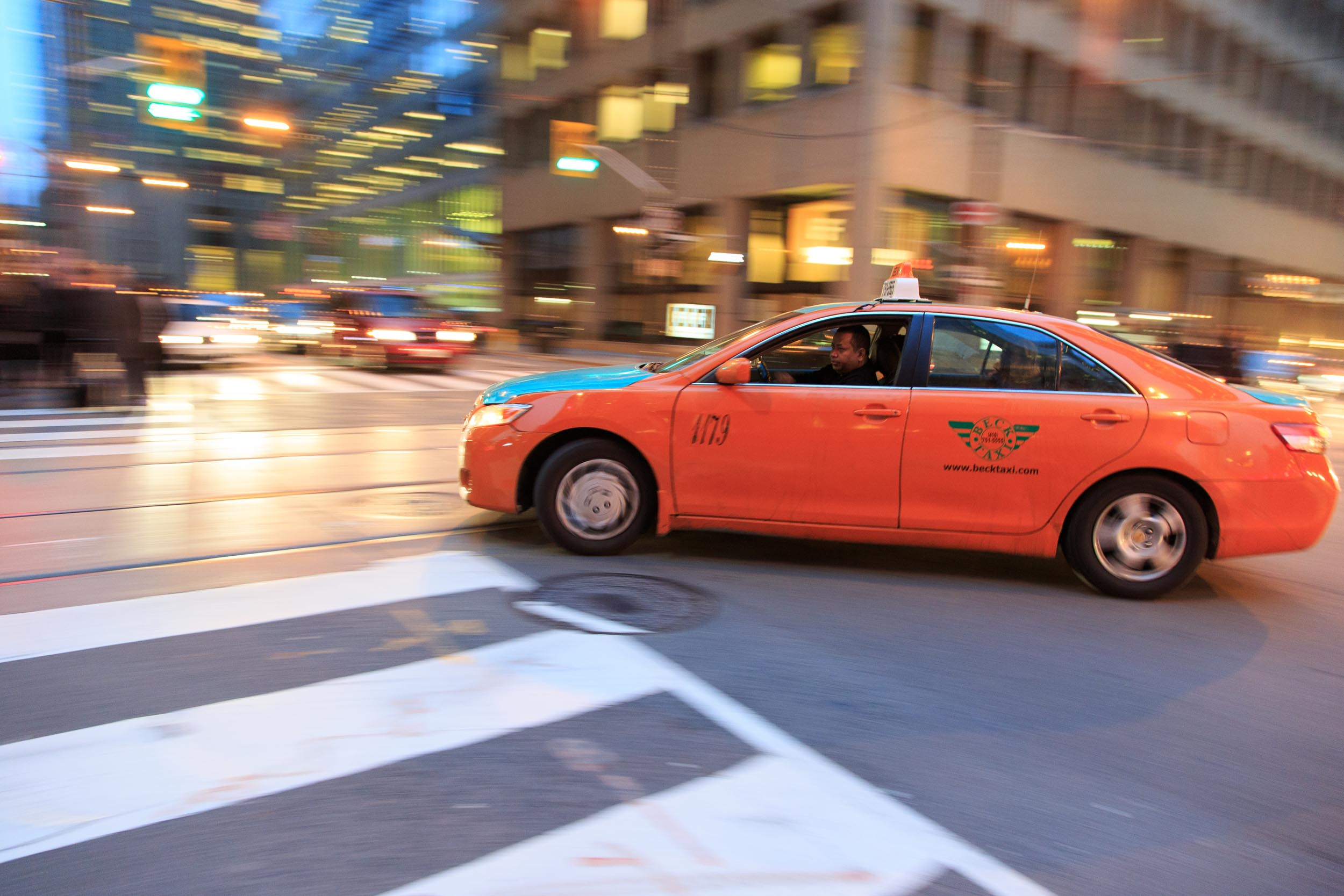 New York Times Photography of Toronto Cab for 36 Hours Travel Guide