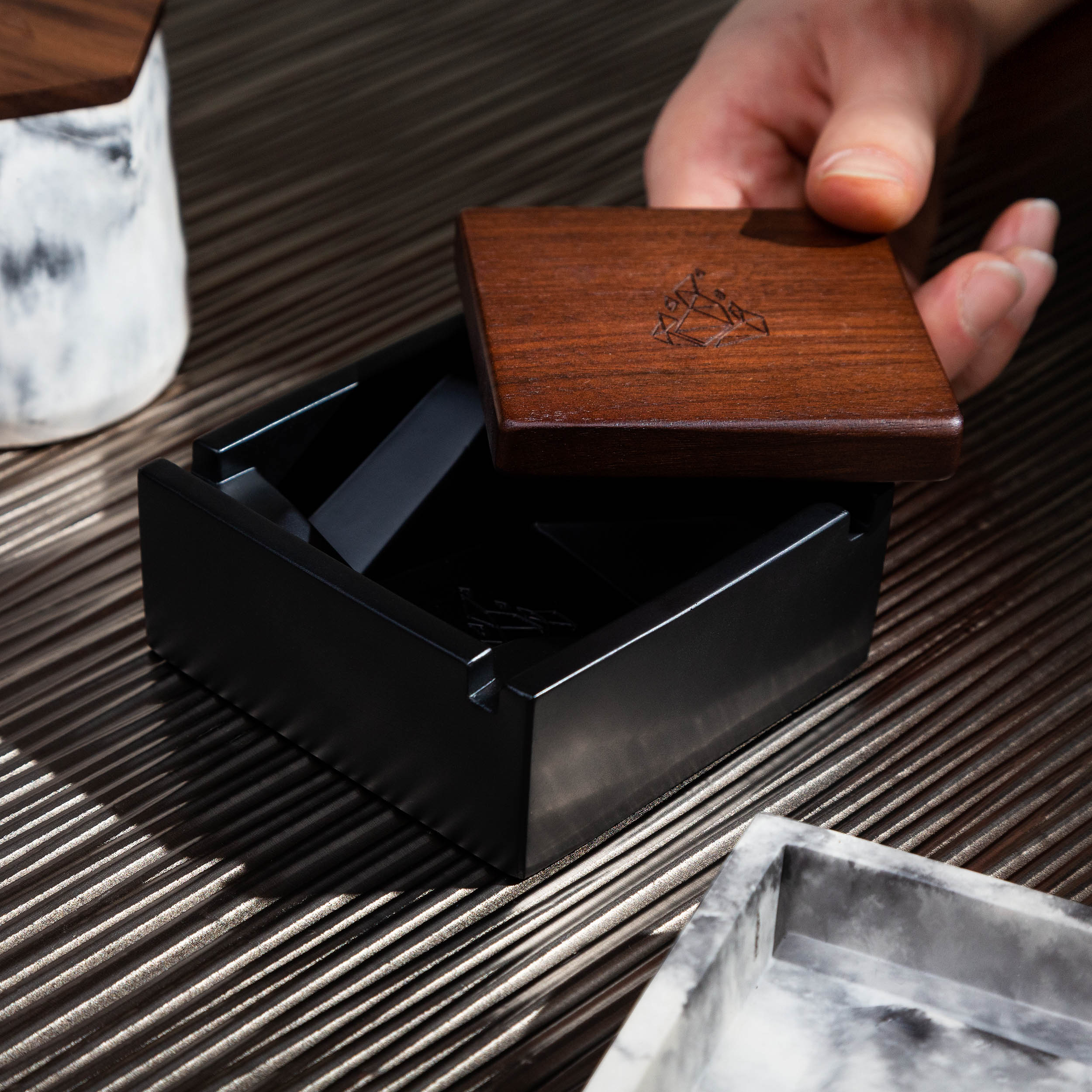 Professional Product Photography of Briq Cannabis Ashtray by BRNT