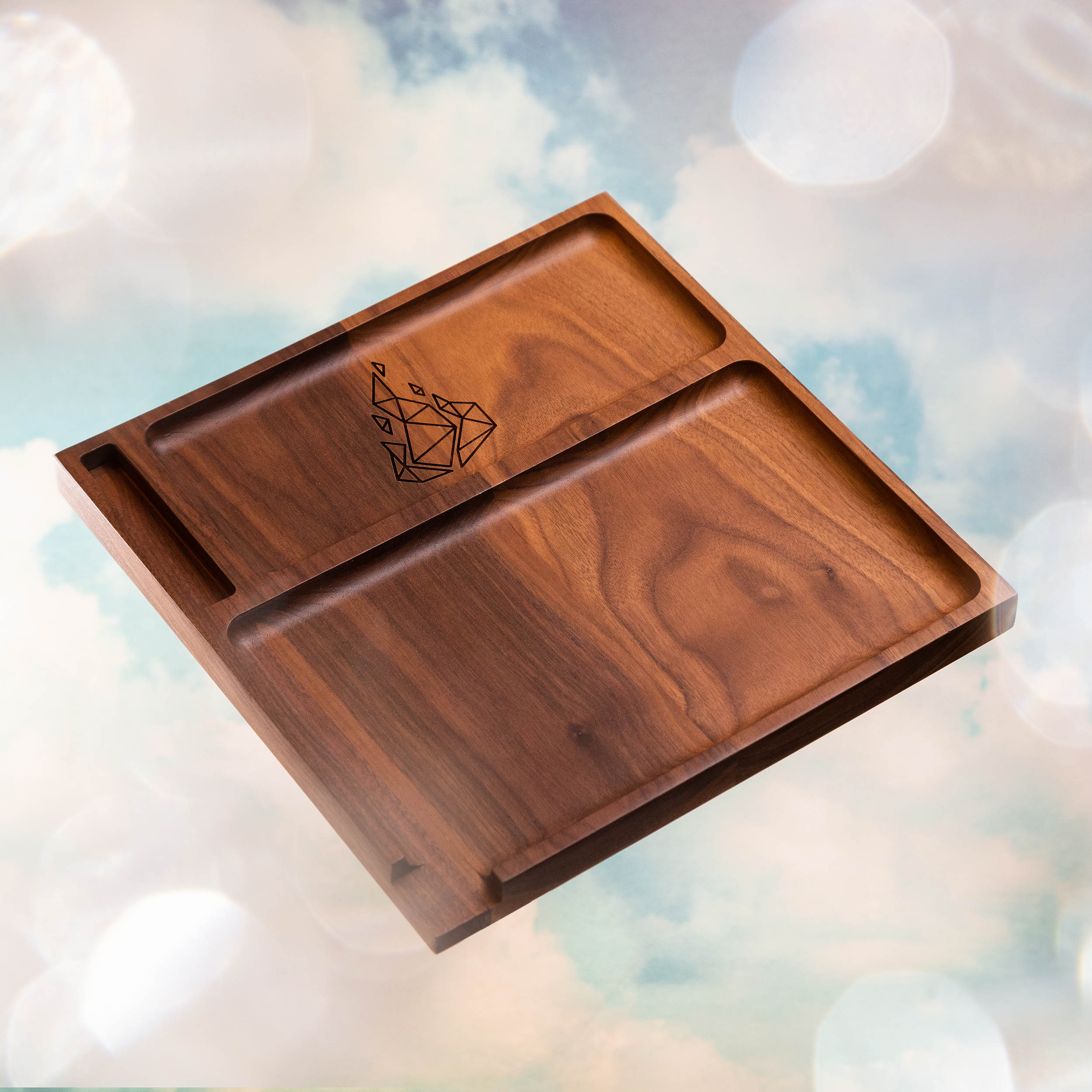 Yaketa Cannabis rolling tray product photography for BRNT