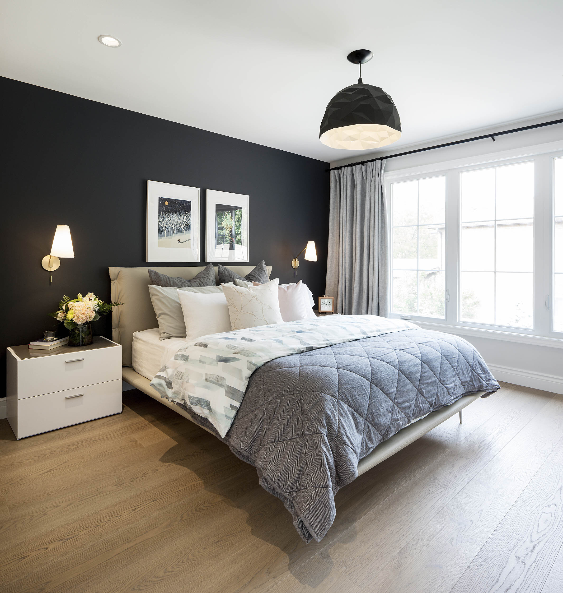 Toronto Bedroom Interior Photography by Worker Bee Supply for Danielle Campbell Design