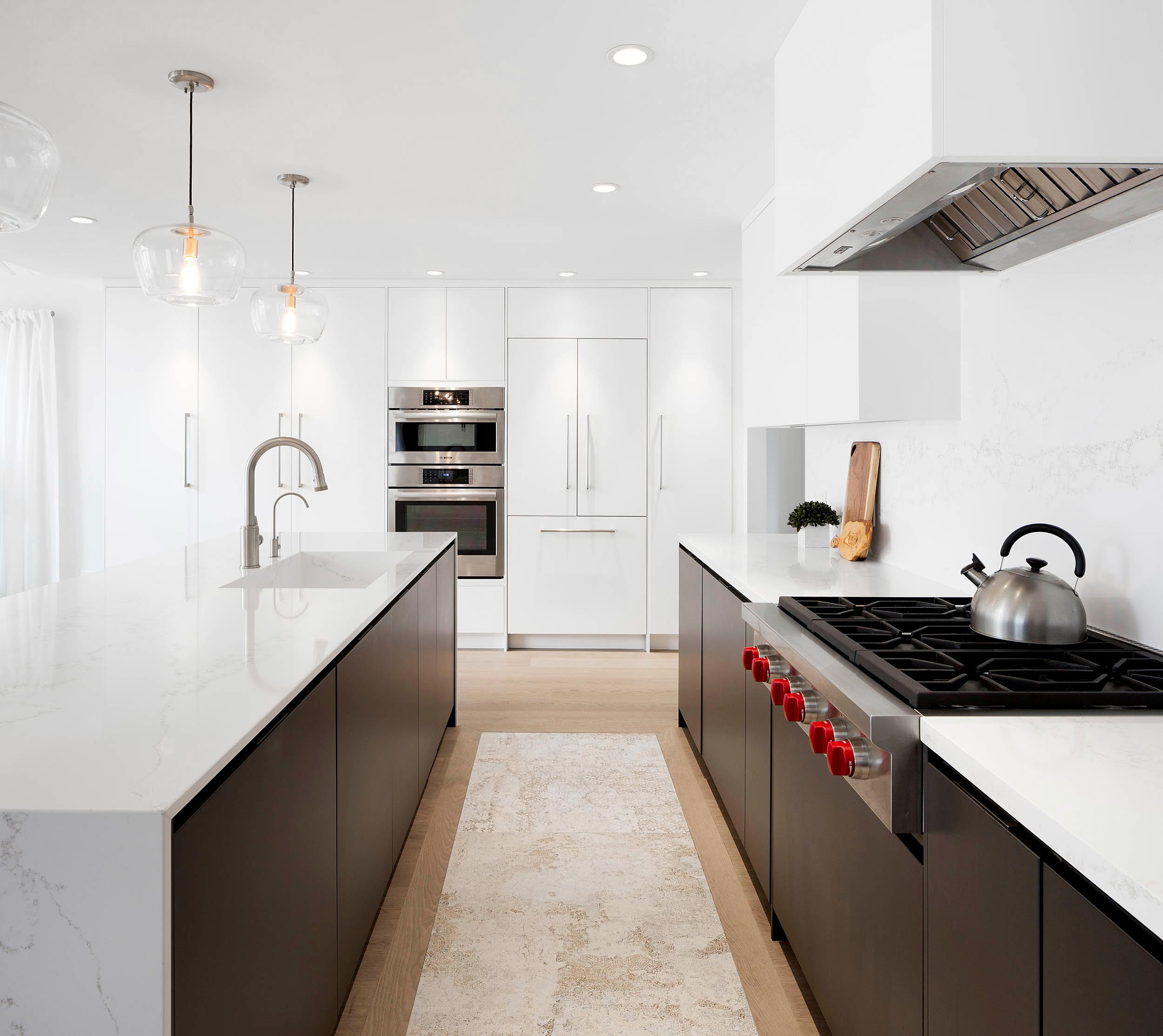 Modern Interior Photography of Kitchen by Danielle Campbell Design