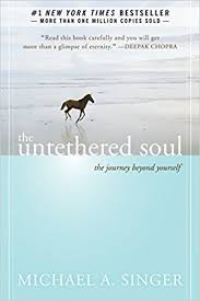 """Michael Singer uses mindfulness and meditation and spiritual practices to explore the limitations we have placed on ourselves.  Quote: """"Eventually you will see that the real cause of problem is not life itself. It's the commotion the mind makes about life that really causes the problems."""""""