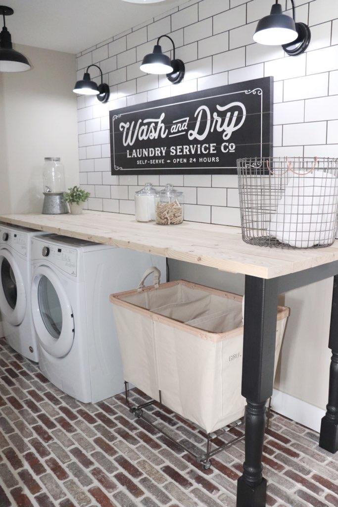Laundry Room Backsplash Update With Bedrosians Randi Lynn Blog