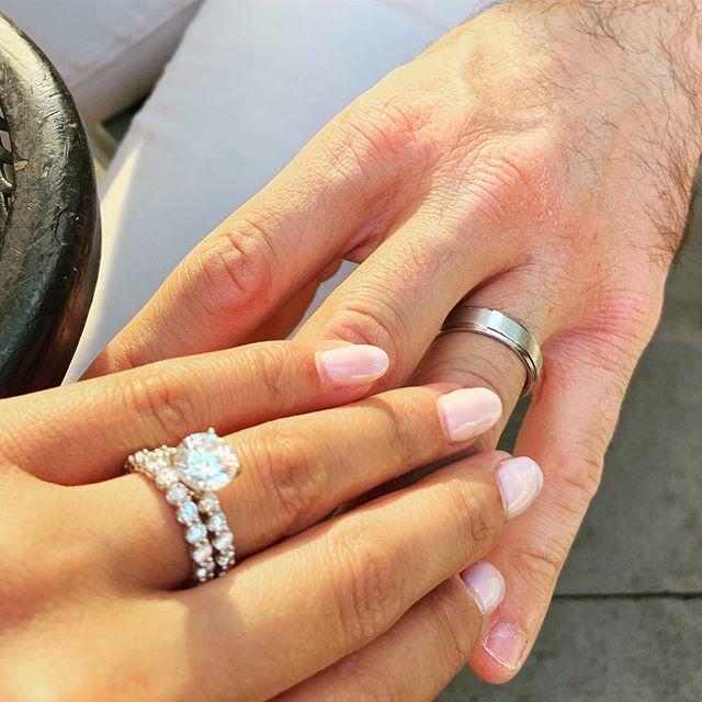 "Tuesday .. ""I do!"" #shellybeckerdesigns #engagementring #tuesday"