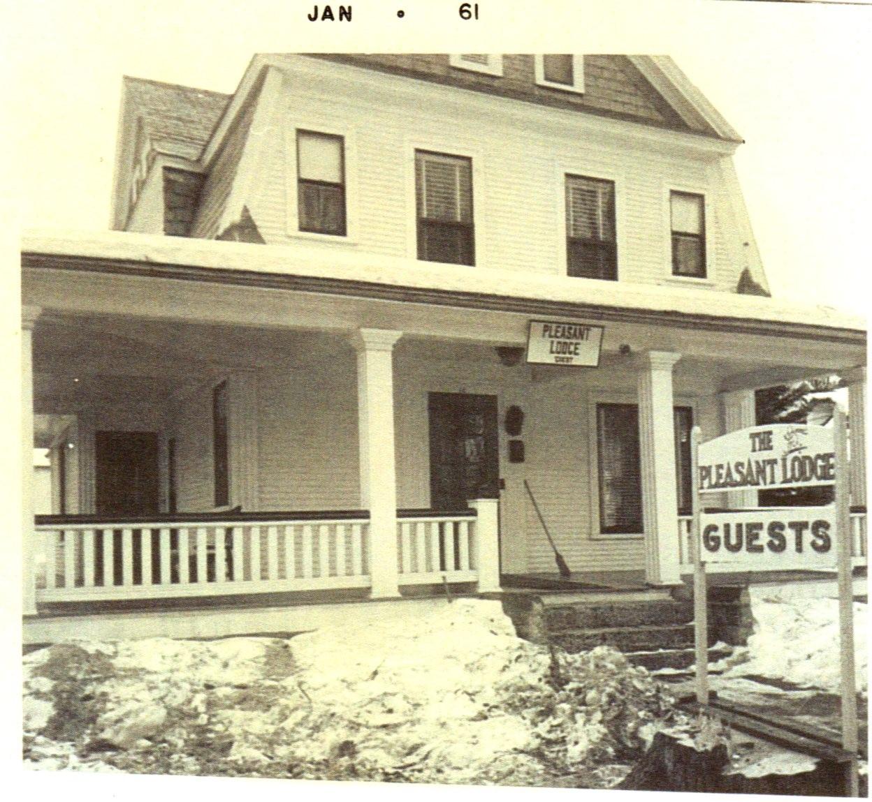 The Pleasant Lodge, circa 1961