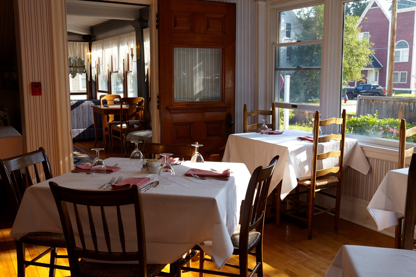 Breakfast in the Grand Dining Room is always a relaxing, gourmet affair.