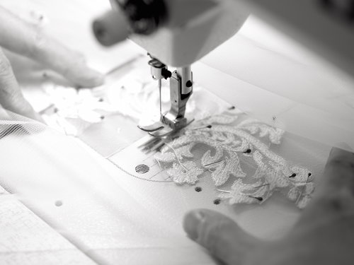 - We started out as a group of small-scale dress studios in the 1980s. We gradually moved to larger facilities, and eventually became a group of factories in which the majority of all brand name wedding dresses are produced. We have been producing dresses for major brands for many decades. So far we have manufactured more than 10 million wedding dresses. With the finest fabrics, laces, beads and accessories, and years worth of experience, we have been leading the bridal industry by producing fashionable and high quality gowns.