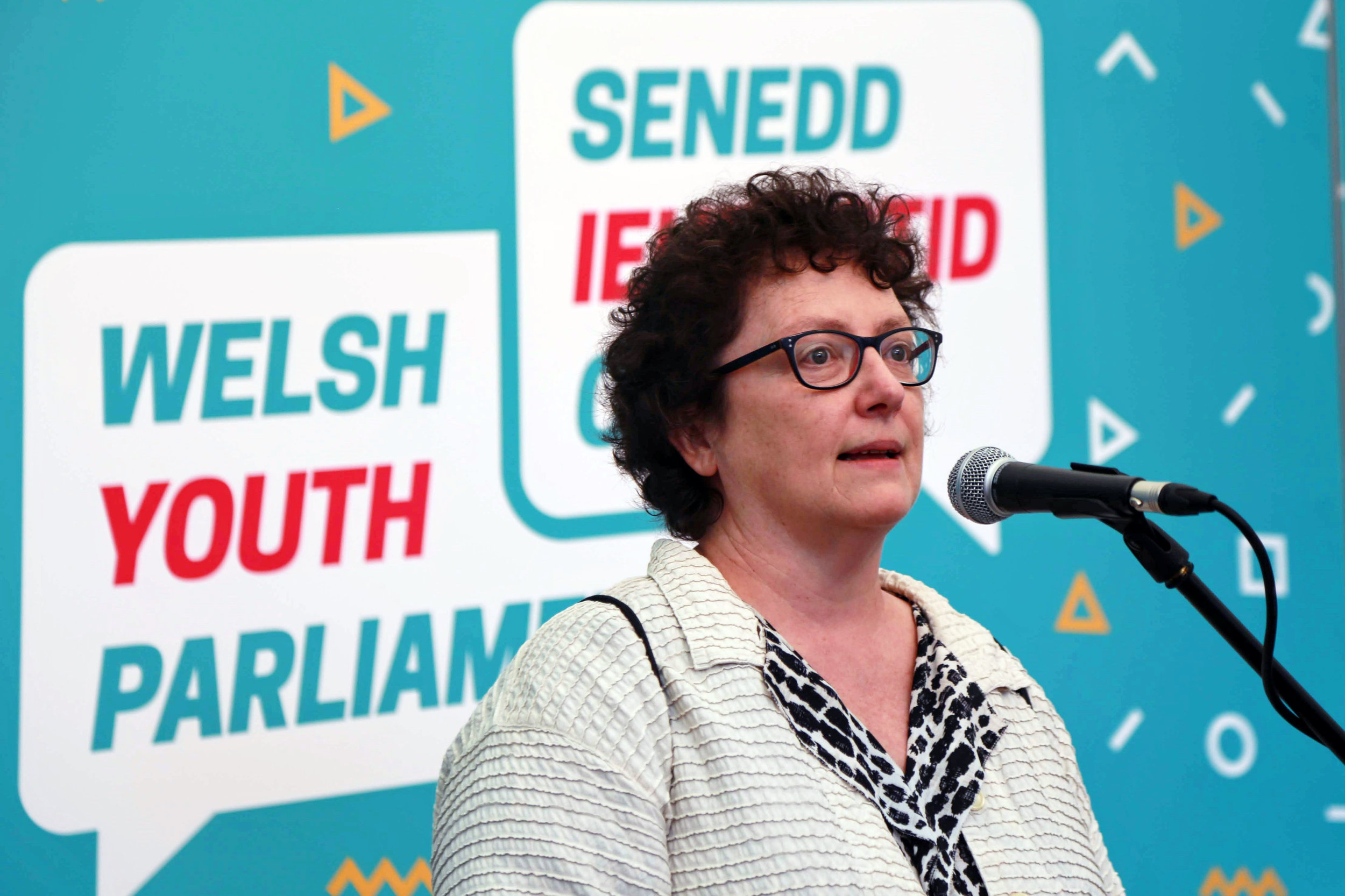 The Presiding Officer, Elin Jones AM who will chair the first Youth Parliament meeting next month.