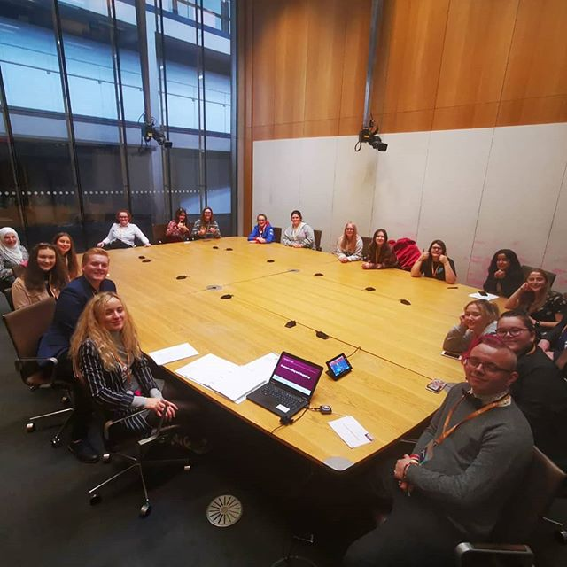 Here are the Emotional and Mental Health Support Committee preparing for their meeting earlier today. Looking forward to the event tomorrow.