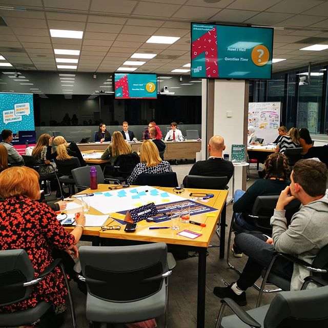 An event full of new ideas, sharing experiences and developing the work of the Emotional and Mental Health Support Committee. Thank you to the panel, committee members and Lynne Neagle / Sally Holland for opening the event. #welshyouthparliament