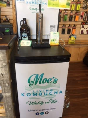 Not a trail of course, but my favorite site of the trip! Live Kombucha on tap. I was SOOO jealous.