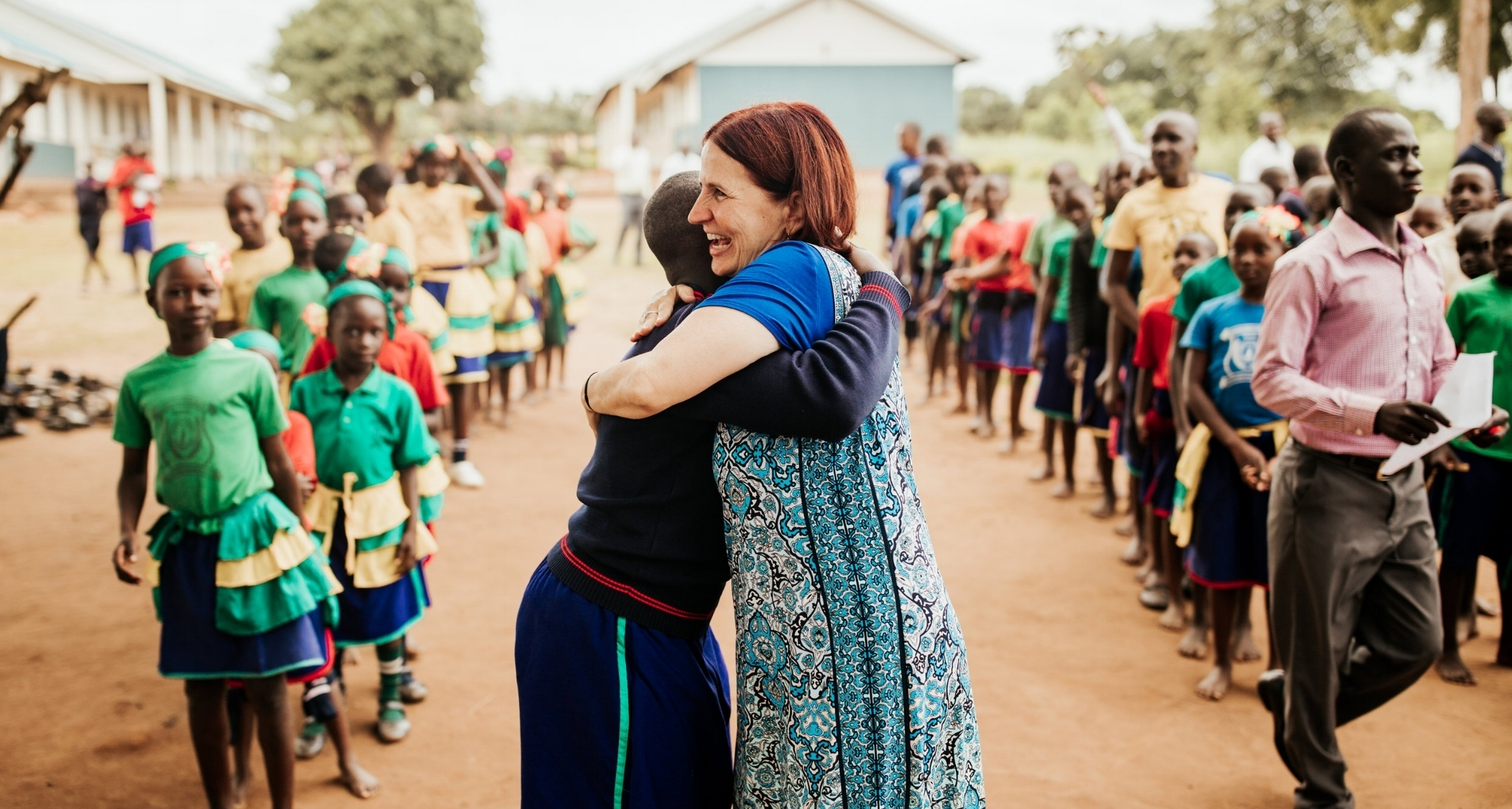 Saving Grace in Uganda has no paid U.S.A. staff - The ministry is overseen by a group of dedicated volunteers who serve with their talents, resources and time, making it possible to have no paid staff in the United States. Board members fund all administrative costs.