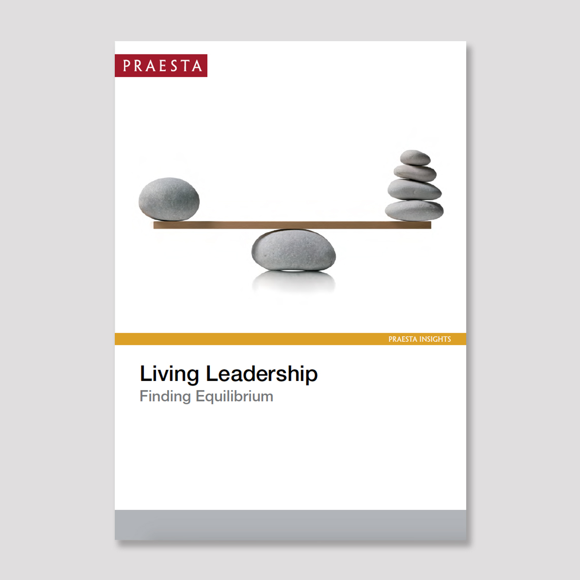 Living Leadership   Finding Equilibrium   Living leadership is about fully embracing your leadership challenges and opportunities. Leading well is about bringing all your experiences to bear, while not trying too hard and exhausting yourself.   Download PDF