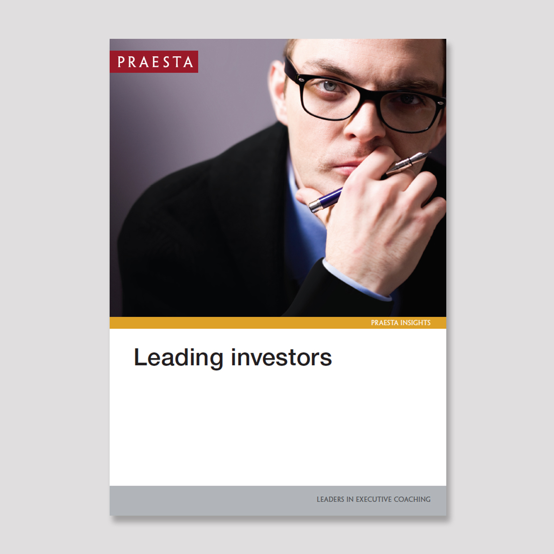 Leading Investors   Here you are, the new team leader, head of investment or CIO. You feel justly pleased by having been given the chance to show your skills at managing people as well as investing assets, and pleasure at being acknowledged by the company as a key member of the overall team. But now what?   Download PDF