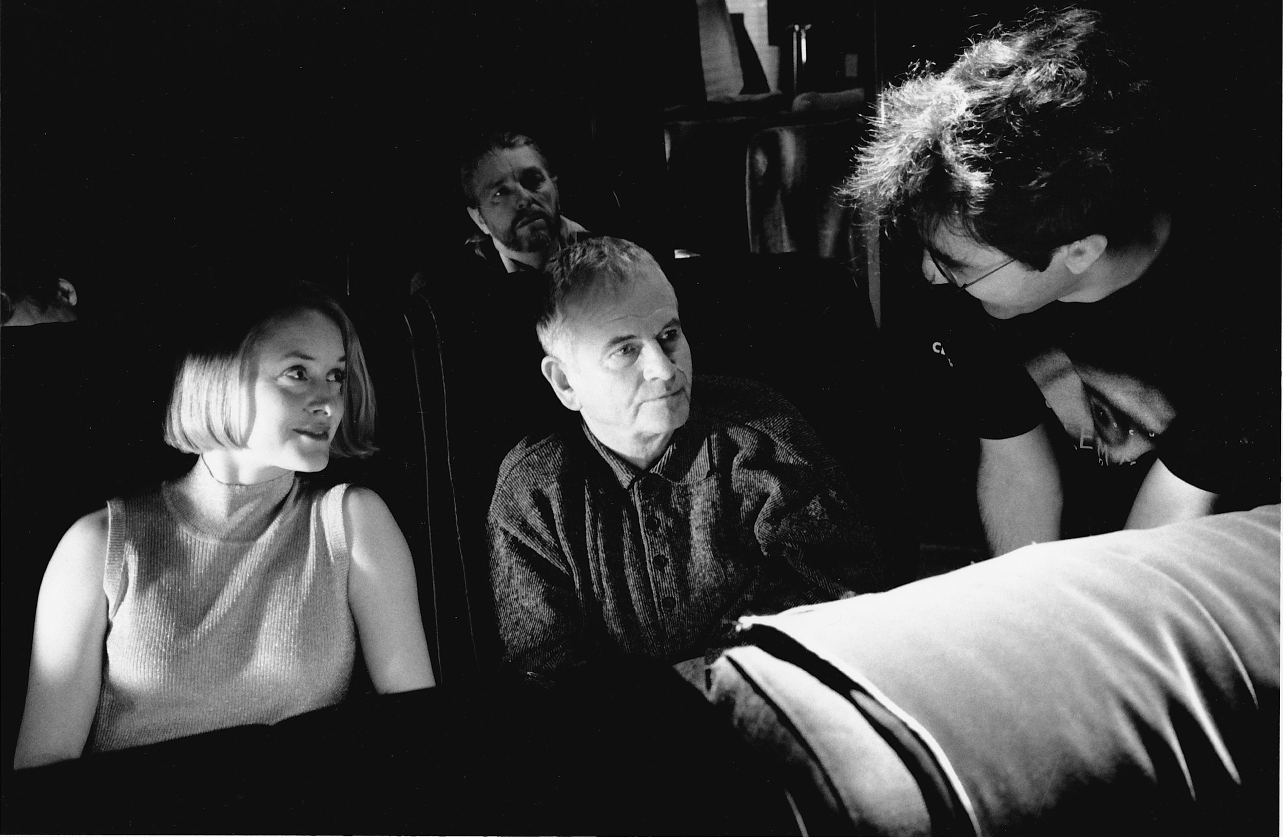 Behind the scenes on  The Sweet Hereafter , with Ian Holm and Atom Egoyan.