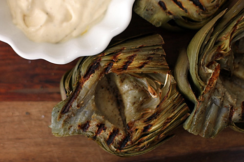 Grilled Artichokes -