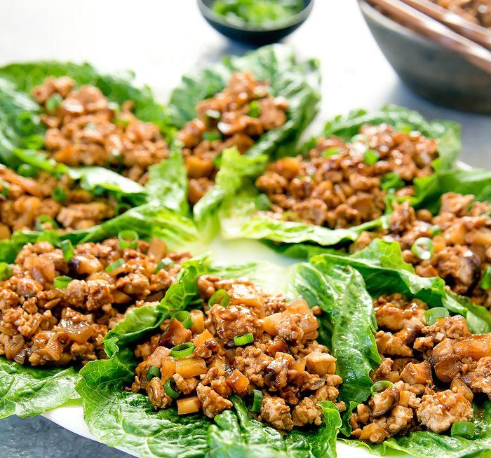 Chicken Lettuce Wraps -