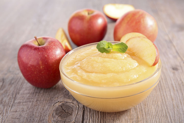 Homemade Applesauce  -