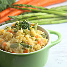 Vegetable Risotto  -