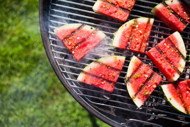 Grilled Watermelon -