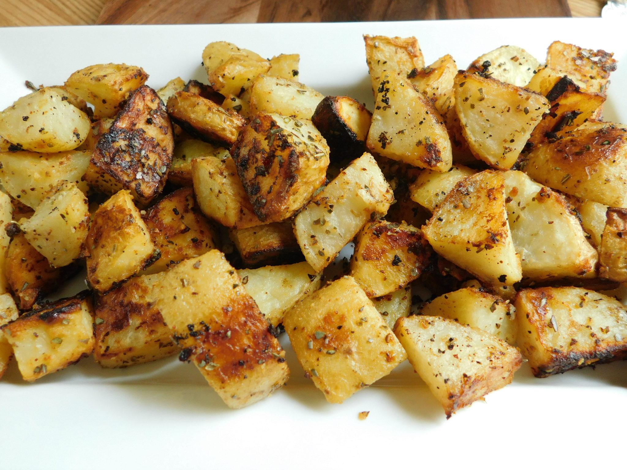 Parmesan Roasted Potatoes -