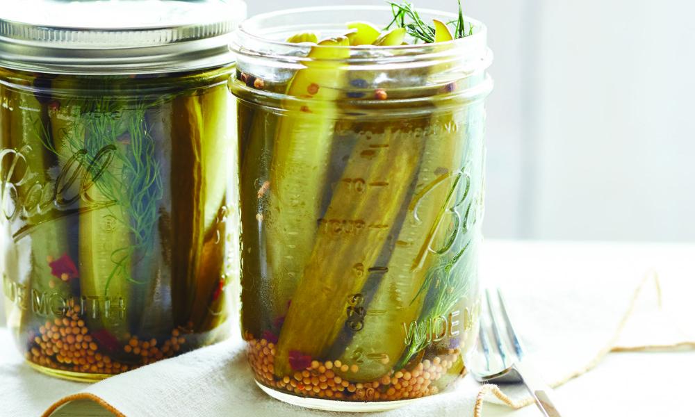 Homemade Pickles -